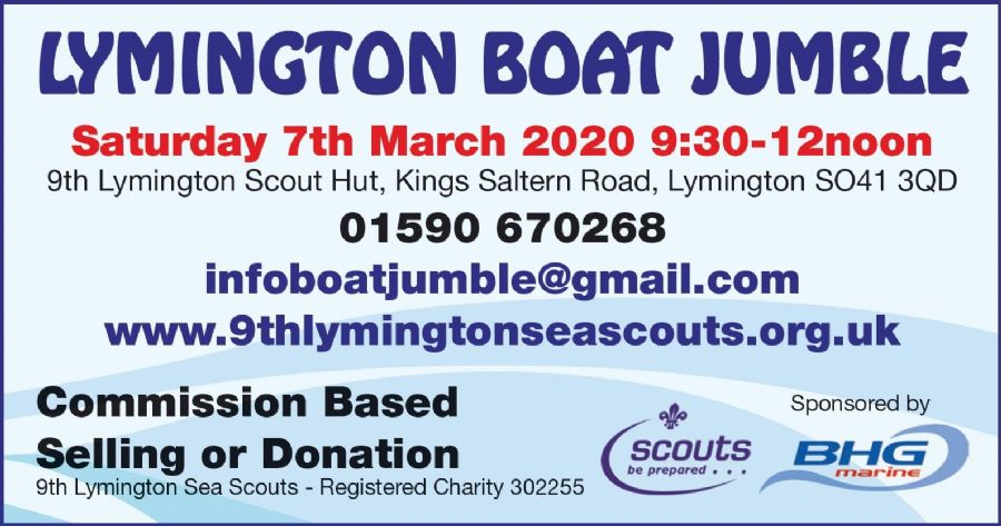 9th Lymington Sea Scouts Boat Jumble